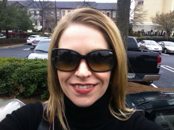 New car & new sunglasses... Now where is Spring?